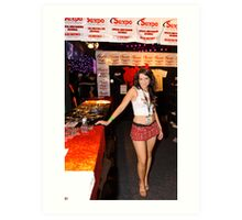 SEXPO Showbag Girl Art Print