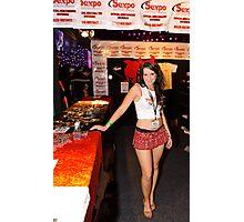 SEXPO Showbag Girl Photographic Print