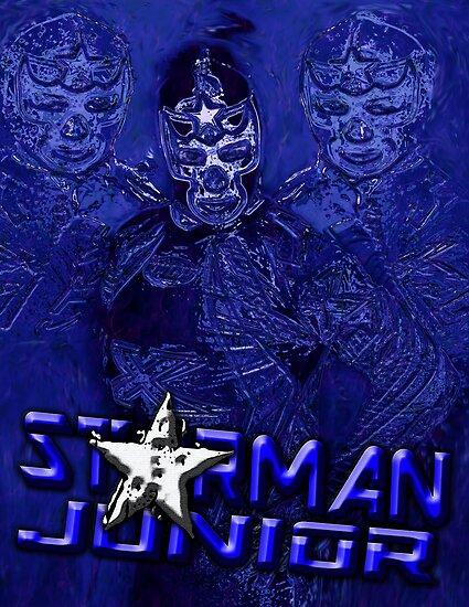 Starman Jr. - Professional Superhero by Brian Walther