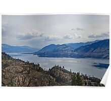 Okanagan Lake from the Park Poster