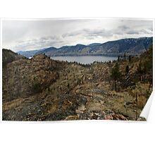 Okanagan Mountain Park View Poster