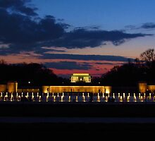 World War II Memorial by Spectre3