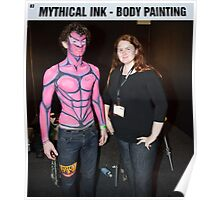 Body Painter - Mythical Ink Poster