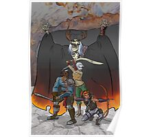 Strongarm & Lightfoot: Scratching a Lich Poster