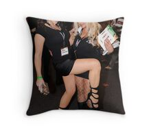 Promo Girls Throw Pillow
