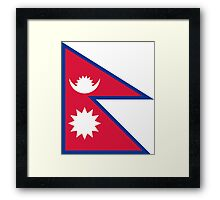 Nepal - Standard Framed Print