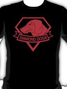 Diamond Dogs (MGSV) Red T-Shirt