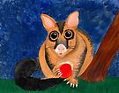 Noni the Possum by Kayleigh Walmsley