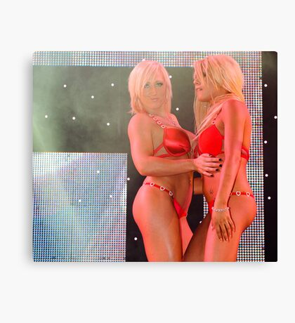 Show Girls Canvas Print