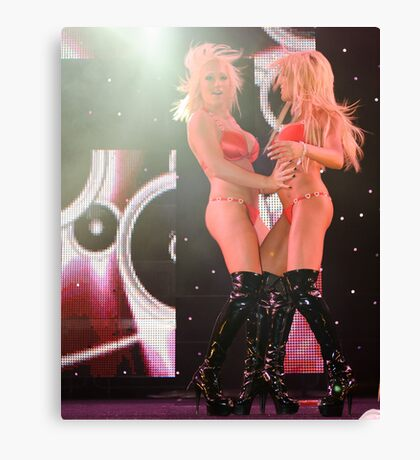 Show Girls #3 Canvas Print