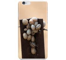 Snails on a post. iPhone Case/Skin