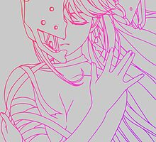 elfen lied lucy lineart coloring anime manga shirt by ToDum2Lov3