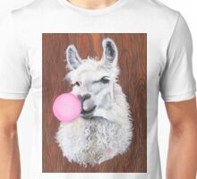 Bubblegum Dolly; the Llama Unisex T-Shirt