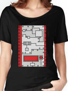 Metal Lab - Ghost Gear Red - Danny Phantom Women's Relaxed Fit T-Shirt