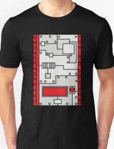 Metal Lab - Ghost Gear Red - Danny Phantom Unisex T-Shirt