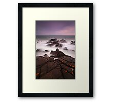 """Stormy Saturday"" Framed Print"