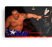 "Tribute To Big Bill Anderson ""Starman Jr. - Spinning Wristlock"" Metal Print"
