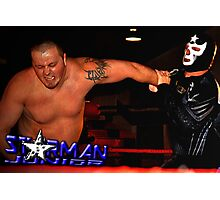 "Tribute To Big Bill Anderson ""Starman Jr. - Spinning Wristlock"" Photographic Print"