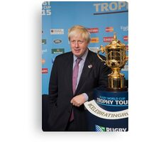 Boris Canvas Print