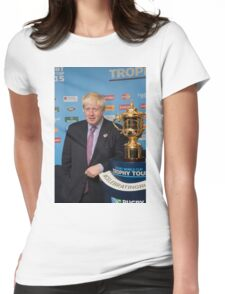 Boris Womens Fitted T-Shirt