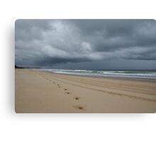 Storm Beyond Canvas Print