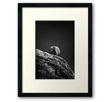 Top Rock Framed Print