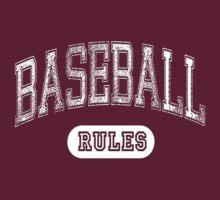 Baseball Rules - Dark by maxkroven