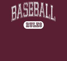 Baseball Rules - Dark Unisex T-Shirt