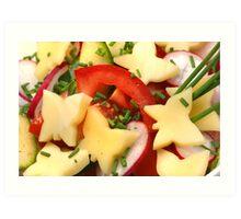 Summer, Summer ....Light Salads Art Print
