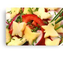 Summer, Summer ....Light Salads Canvas Print