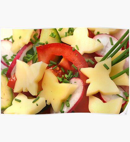 Summer, Summer ....Light Salads Poster