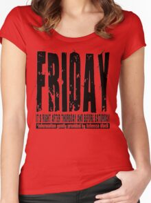 Friday 01 - Light Women's Fitted Scoop T-Shirt