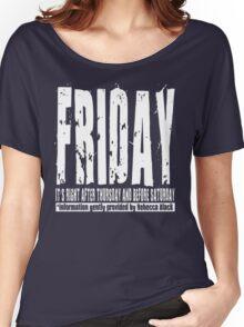 Friday 01 - Dark Women's Relaxed Fit T-Shirt