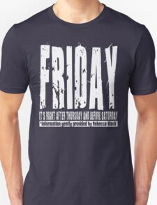 Friday 01 - Dark T-Shirt