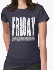 Friday 01 - Dark Womens Fitted T-Shirt
