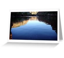Gorge Light Greeting Card