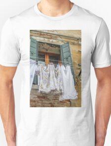 clothes hanging Unisex T-Shirt