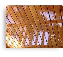 Rain Reflection Canvas Print