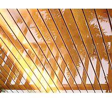 Rain Reflection 2 Photographic Print