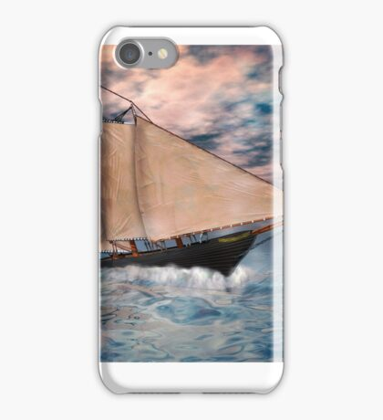 The America's Cup . . . the beginning iPhone Case/Skin
