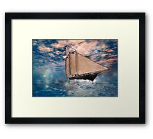 The America's Cup . . . the beginning Framed Print