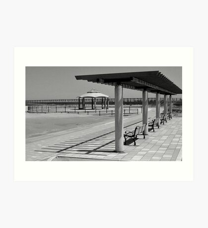 Empty Beach Art Print