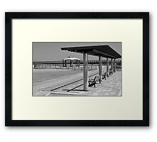 Empty Beach Framed Print