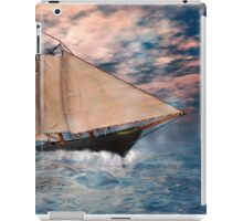 The America's Cup . . . the beginning iPad Case/Skin