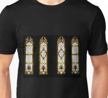 Stained Glass Panel Unisex T-Shirt