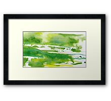 Green Meadows 2 Framed Print
