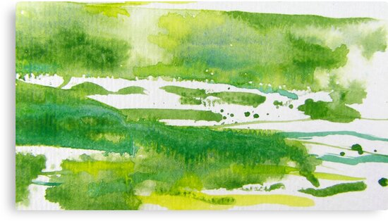 Green Meadows 2 by Kathie Nichols