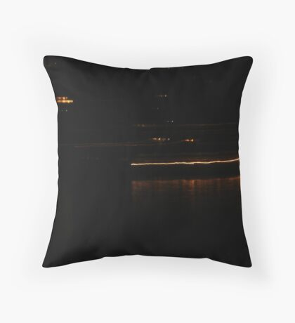 Fire Dance On Water 2 Throw Pillow