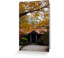 Mountain Cottage Greeting Card