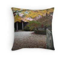 Mountain Cottage 2 Throw Pillow